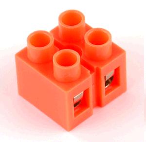 Клеммный блок H2519-2P 36A/660V, материал медь, сечение провода 0.5-6мм2
