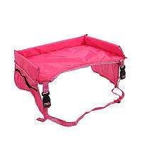Дитячий столик в машину, Play n 'Snack Tray, колір - Рожевий, столик для автомобіля