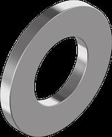 Шайба плоская стальная (БП / ЦБ / DELTA-MKS) ГОСТ 11371-78, DIN 125