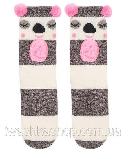 Домашние носки - тапочки на девочек, р. 31/34, X-Mail / KIK