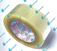 Скотч упаковочный прозрачный. Липкая лента. Ширина 48 мм, длина 200 м.