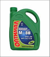 Масла моторные для среднефорсированных бензиновых и дизельных двигателей,  М8В, 5л.