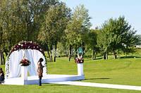 Свадебный декор напрокат, оформление выездной церемонии, аренда декораций для свадьбы