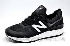 Мужские кроссовки в стиле New Balance 574 fresh foam, Black\White, фото 2