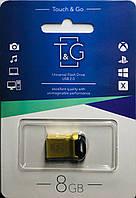 USB флеш-накопитель T&G 8 Gb gold