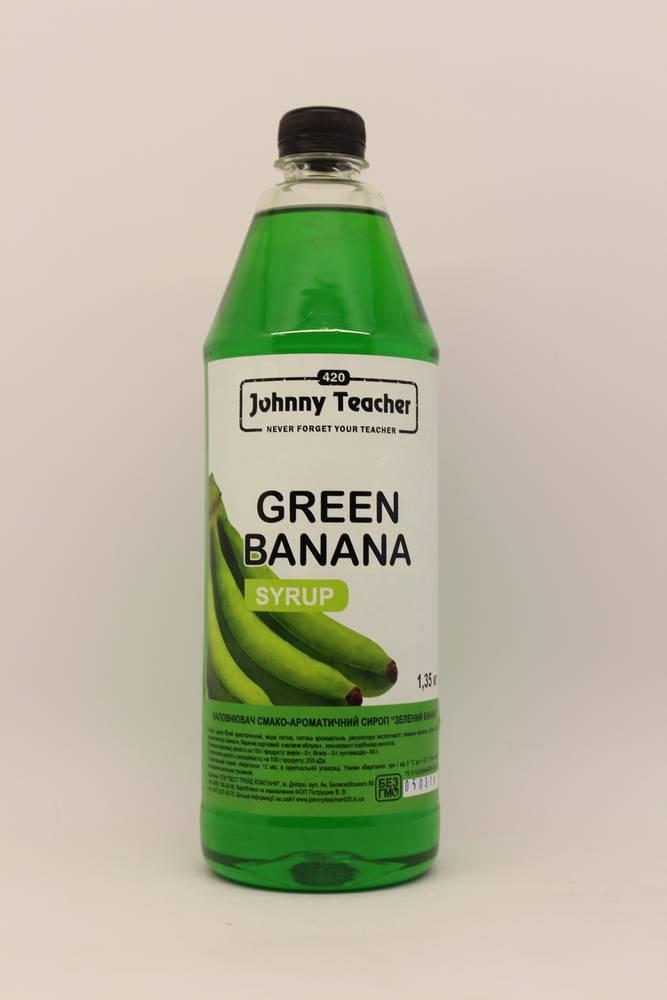 Сироп Зеленый банан 1.35 кг Johnny Teacher