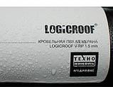 Мембрана ПВХ LOGICROOF V-RP 1,2 ММ серая CE 2,10 X 25 М ТехноНИКОЛЬ, фото 3