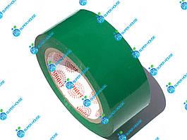 Скотч упаковочный. Липкая лента. Ширина 48 мм, длина 160 м. Зелёный