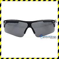 Очки для стрельбы Silenta TI8000 с чёрными линзами, UV400 защита.