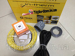 Чешский кабель In-therm под плитку, 1,4 м2 (Акционная цена с цифровым регулятором)