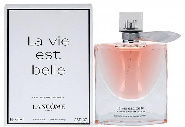 Женская парфюмированная вода Lancome La Vie Est Belle Legere edp 75 ml реплика, фото 2