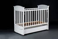 Кроватка Laska-M Наполеон VIP с ящ. (продольный маятник)