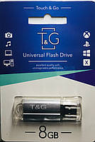 USB флеш-накопитель T&G 8 Gb silver