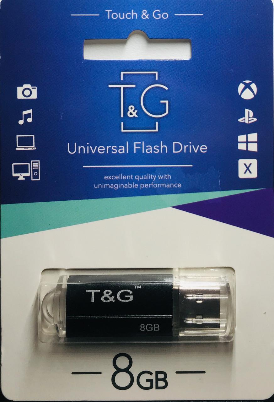 USB флеш-накопитель T&G 8 Gb black