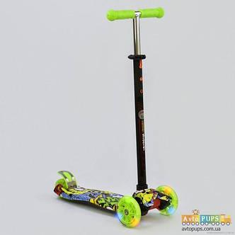 Самокат Best scooter MAXI граффити 1395, фото 2