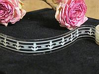 Скотч прозрачный с принтом декоративный, фото 1