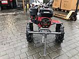 Мотоблок WEIMA WM1100С6,DIFF,  4+2 скорости, бенз 7,0л.с.,ручной стартер,  4,00-10, фото 3