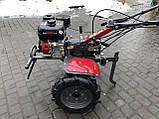 Мотоблок WEIMA WM1100С6,DIFF,  4+2 скорости, бенз 7,0л.с.,ручной стартер,  4,00-10, фото 2