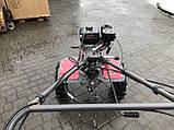 Мотоблок WEIMA WM1100С6,DIFF,  4+2 скорости, бенз 7,0л.с.,ручной стартер,  4,00-10, фото 4