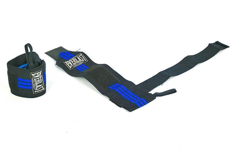Бинти кистьові для тяги (2шт) EVERLAST чорний-сині TA-4860