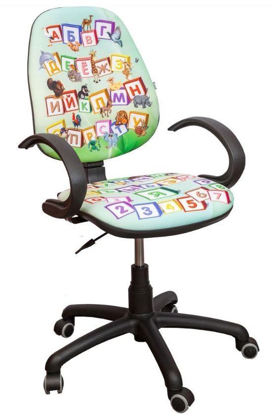 Кресло Поло 50 АМФ-5 Дизайн Веселая азбука (Механизм Перманент контакт)