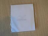 Наклейка s вставка в эмблему Porsche Stuttgart 42х56х1,3мм силиконовая эмблема на авто Порш Порше без хрома, фото 3