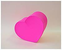Коробка сердце среднее красное , фото 1