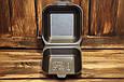 Ланч-бокс одноразовый HB-7 (мини сендвич) из вспененного полистирола с крышкой 135x135x70 мм., фото 4