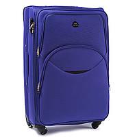 Средний тканевый чемодан Wings 1708 на 4 колесах фиолетовый