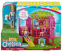Серия клуб Челси Игровой набор Барби Домик на Дереве Barbie Club Chelsea Treehouse Playset