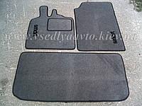 Ворсовые коврики в салон и багажник SMART Fortwo 451 с 2007 г. (Серые)
