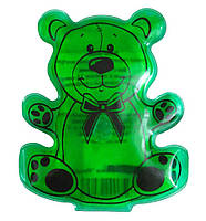 Сольовий аплікатор, «Ведмедик», Дельта Терм, колір – Зелений, сольова грілка