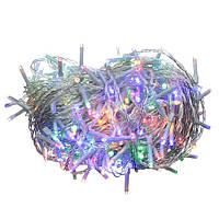 Різдвяна гірлянда, на 300 лампочок, колір лампочок – Мульти, ялинкові прикраси
