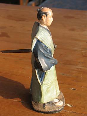 Статуетка Самурай поч. ХХ століття, період Мейдзі-Тайсе, фото 2