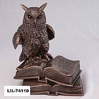 Статуэтка Сова (17 см) Veronese Италия 74110A4
