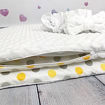 """Конверт-одеяло на выписку универсальный """"Dots"""", фото 2"""