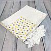 """Конверт-одеяло на выписку универсальный """"Dots"""", фото 3"""