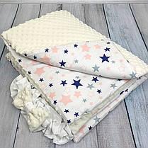 """Конверт-одеяло на выписку универсальный """"Loving Stars"""", фото 2"""
