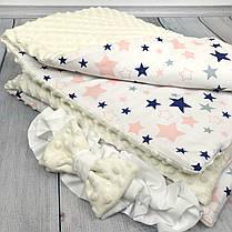 """Конверт-одеяло на выписку универсальный """"Loving Stars"""", фото 3"""
