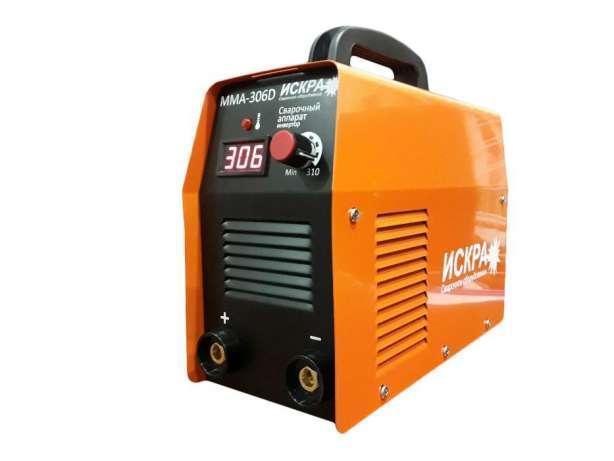 Сварочный аппарат инверторный Искра ММА-306D IGBT