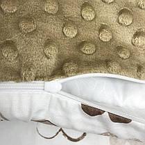"""Конверт-одеяло на выписку универсальный """"Нежные Сердечки"""", фото 2"""