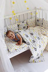 """Детское постельное белье в кроватку """"Купи слона"""""""