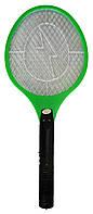 Мухобойка на акумуляторі, колір – Зелений, електромухобійка, це надійна, мухобойка у вигляді ракетки