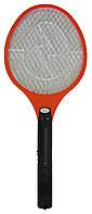 Мухобойка у вигляді ракетки електрична, колір – Червоний, електро мухобойка