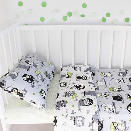 """Постельное бельё в детскую кроватку """"Sleepy Owls"""", фото 2"""