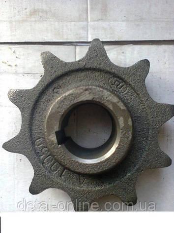 54-10050А Зірочка верхнього валу похилої камери Z-10 t-38, фото 2