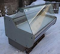 Холодильная витрина «Технохолод Кентукки» 1.8 м. (Украина), широкая выкладка 64 см. Б/у, фото 1