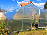 Теплица 4x12миз 4мм сотового поликарбоната