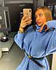 Женское платье- туника крупной вязки в расцветках. ОЛ-11-0119, фото 6
