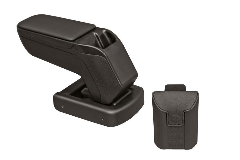 Подлокотник Фиат Пунто / Fiat Punto 2015- ArmSter 2 Black с э/о сидений, фото 1